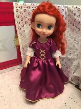 "Fits Disney Animators 16"" Toddler Doll Clothes Princess Rapunzel Replica Dress"
