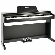 Fame DP-2000 E-Piano mit präziser Hammermechanik, anschlagdynamischen 88 Tasten,