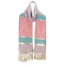 Women Fashion Pashmina Scarf Folk Style Long Winter Shawl Wrap Stole Purple