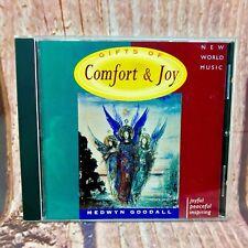 Gifts of Comfort & Joy Medwyn Goodall 1989 CD Joyful Peaceful Inspiring new