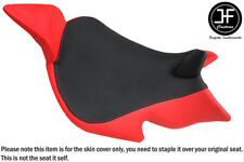 RED & BLACK VINYL CUSTOM FITS BENELLI 1130 TNT 04-15 FRONT SEAT COVER