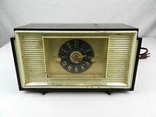 Vintage GE Clock Radio Alarm Model 940 Analog Mid Century General Electric