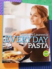 GIADA DE LAURENTIIS COOKBOOK Everyday Pasta HARDBACK/DJ italy recipes