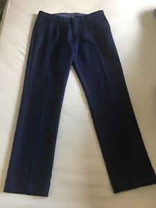 Zara Man Tailoring Herren Männer Slim Fit Hose in Blau Marine Größe 40 bzw. 31
