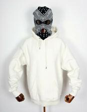 Lakai Footwear Shoes Hooded Sweatshirt Hoodie Sweater Simple Pullover Bone in M