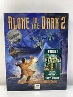 Alone In The Dark 2 1994 (DOS 3.1+) PC CD-ROM Box Game [includes AITD 1] DA92984