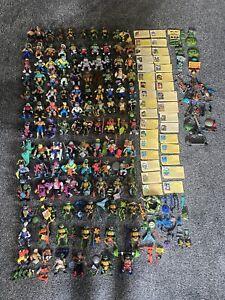 Massive Teenage Mutant Ninja Turtles Figure Lot With Weapons Accessories TMNT!!!