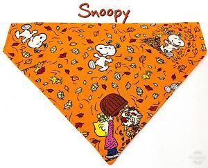 Snoopy Dog Bandana Over the Collar dog bandana Dog collar bandana Fall Halloween