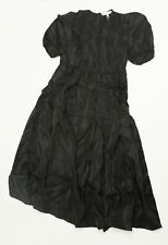 & Other Stories Women's Puff Sleeve Midi Dress FR& Black Size US:6 EUR:38 NWT