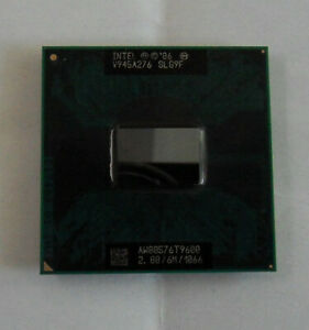 CPU INTEL CORE 2 DUO T9600 SLG9F 2.8 GHZ SOCKET P