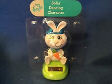 New  Solar Powered Dancing Toy Bobble Head Easter Bunny