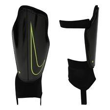 Nike Charge Football Shin Pads Guard Adult  LARGE 170 - 180 cm Black Volt R331-2