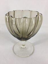 MURANO ART GLASS Vaso Piatto piedistallo (rif. G020)