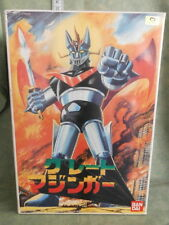 GRANDE MAZINGA MAZINGER ROBOT BANDAI MADE IN JAPAN VINTAGE DA COSTRUIRE 1998
