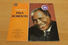 Paul Robeson - The Best Of Paul Robeson - Vinyl LP - Regal Star Line SRS 5041