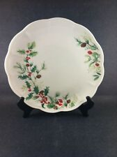 Lenox Winter Meadow Holly Plate Christmas New American Design Dinner Plate