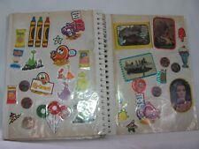 Vintage 1970/80 Sticker Book Hundreds of Stickers Star Wars He Men ET Pac Man #1