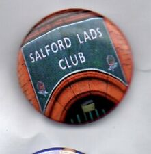 THE SMITHS Salford Lads Club BUTTON BADGE - MORRISSEY - UK ROCK BAND 25mm Pin