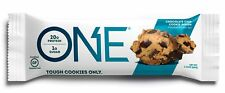 ONE Protein Bar, Chocolate Chip Cookie Dough, 20g Protein, 1g Sugar, 12-Pack