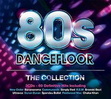 VARIOUS ARTISTS - 80's DANCEFLOOR: THE COLLECTION 3CD ALBUM SET (2014)