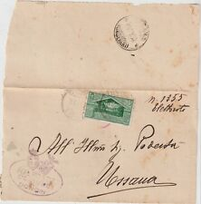 ITALY 1930 25C VIRGILIO ISOLATED ON COVER FROM DONORI CA TO MASSAUA  EAST AFRICA