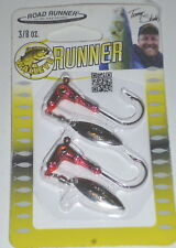 Blakemore Awesome Walleye Runner 3/8 Willow Spin Jigs (Craw-2/pk)