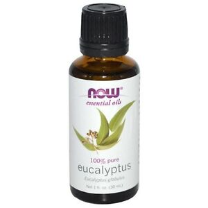 NOW® Pure Eucalyptus Oil - 1 oz. (7545) Aromatherapy Fast 1st Class Shipping