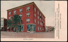HAGERSTOWN MD Bookbinding & Printing Company Office & Plant Vintage Postcard Old