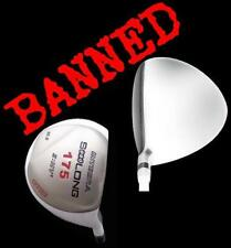 "10.5 WHITE ILLEGAL NON CONFORMING COR ANTI-SLICE OFFSET 48"" LONG DRIVER"