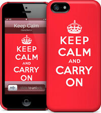 Hard Case GelaSkin- Keep Calm for iPhone 5