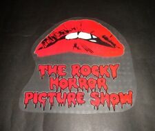 THE ROCKY HORROR PICTURE SHOW IRON ON TRANSFER BADGE DECAL CULT VINTAGE EX SHOP