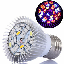 E27 28W 28-LED Grow Light Full Spectrum Lamp Bulb for Flower Hydroponics Plants