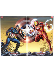 Captain America Civil War 2016 SDCC Exclusive Promo Poster Set Marvel Custom