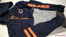 RARE Chicago Bears Super Comfy Hoodie Jacket /w Large Front Pocket size Adult L