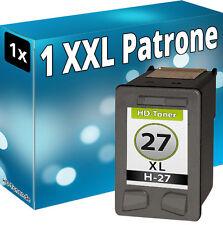 PATRONE für HP 27 XL DeskJet 3425 3620 3653 3740 5600 OfficeJet 4105 4212 4252