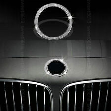 Bmw 5 Series X3 X4 X5 X6 F15 Silver Diamond Style Front Logo Ring Cover Trim For