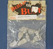 Berlin or Bust WGB-8: 25mm WW2 British Casualties (8 Figures)