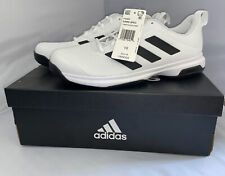 Adidas Men's Game Spec FX3651 Athletic Tennis Shoes - White Size 10