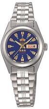 NEW Orient Women's 3 Star  Silver Automatic Lady Watch FNQ1X003J W. ORIENT BOX