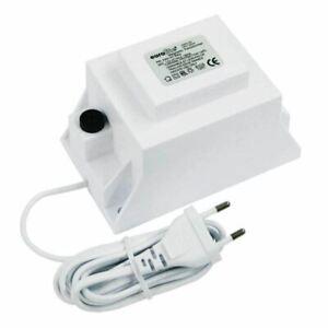Eurolite® Transformator mit isoliertes Gehäuse Halogensicherheitstrafo 12V/120VA
