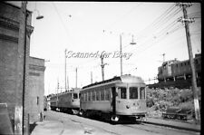 Montreal & Southern Counties St Lambert Quebec Aug 1955 ORIGINAL PHOTO NEGATIVE