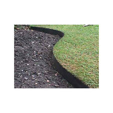 Smartedge - 50m - Black Easy Lawn Edging Border Fence Neat Garden Landscaping