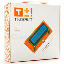 New Arduino Tinkerkit LCD Module Shield 16 Character 2 line Text Display T110061