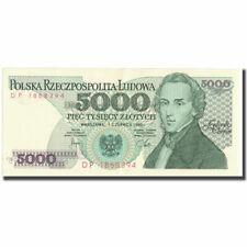 [#647936] Banknot, Polska, 5000 Zlotych, 1982, 1982-06-01, KM:150a, UNC(65-70)