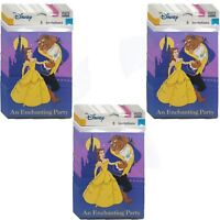 Beauty & The Beast Invitations Bundle Pack of 24