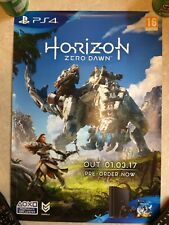 HORIZON ZERO DAWN - OFFICIAL GAME PROMO POSTER