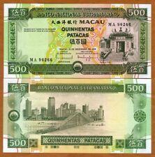 Macao / Macau 500 Patacas, 1999, P-74, BNU, UNC