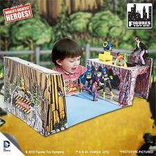 "NEW RETRO BATMAN and ROBIN BATCAVE playset  for 8""action figures"