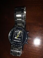(Special) Proud USA Seller All Stainless Jack Daniels Wrist Watch W/Glass Face