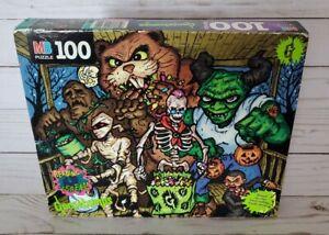 Goosebumps Puzzle Trick Or Treaters VTG 1996 SEALED 4655 Slappy Cuddles Hamster